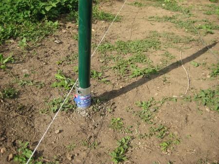 Zemné skrutky Krinner pre ploty